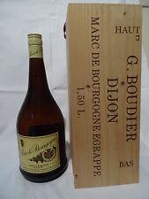 1L = 86,67€ Rarität Ältere Marc de Bourgogne Tresterbrand 1,5L, 40%VOL