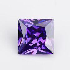 3.5 MM Purple Princess Shape Stone Cubic Zirconia (CZ) Loose Excellent Quality