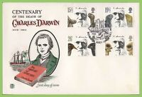 G.B. 1982 Darwin set on Stuart First Day Cover, Westminister Abbey