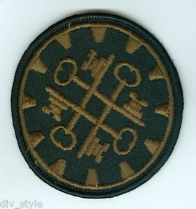 177th Military Police Brigade embroidered patch subdued US Army surplus