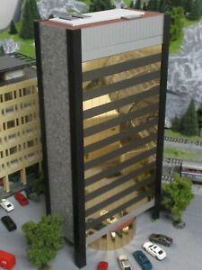 Spur N Exklusiv-Modell City-Hochhaus Stadthaus Gebäude Building Highrise Tower