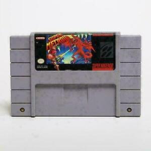 Super Metroid SNES NTSC USA VERSION Game Cartridge ( 3-Week shipping )