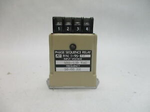 STI 1-95-12 Phase Sequence Relay 400-530VAC 50/60Hz 5A Resistive