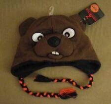 New Oregon State Beavers Benny Warm Winter Ski Pilot Laplander Hat Cap Gift NWT