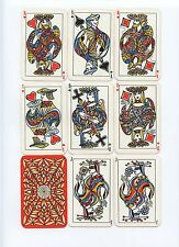 TOUCHAGUE peintre LYONNAIS Very Rare playing cards