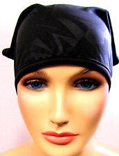Bandana deportiva Pañuelo negro liso black de Bench estructurado para