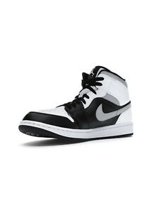 🔥 Size 8.5 ~ IN HAND ~ Nike Air Jordan 1 Mid White Shadow ~ Free 📦
