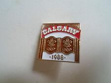 Calgary 1988 OLIMPIADI INVERNALI Tie Pin-cimeli sportivi
