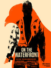 Olly Moss - ON THE WATERFRONT - Limited Edition Print Poster Mondo Roadshow Rare