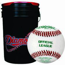 30 - Diamond Sports Baseball & Ball Bucket Combo DOL-1 BLEM Practice Balls
