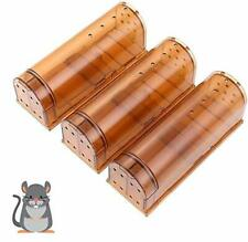 3 Pack Humane Mouse Trap, Live Mice Trap, Mouse Traps Indoor/Outdoor (3 Pack)