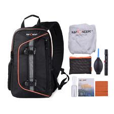 K&F CONCEPT for DSLR Camera Backpack Shoulder Bag Waterproof Cover with Cleaning