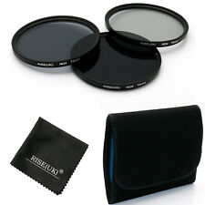 72MM Neutral Density Filter Lens Kit ND ND2+ND4+ND8 for Canon Nikon camera