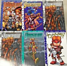 Youngblood#1 Vf/Nm Lot 1998 Alan Moore (6 Books) Awesome Comics