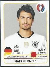 PANINI EURO 2016- #244-GERMANY-MATS HUMMELS