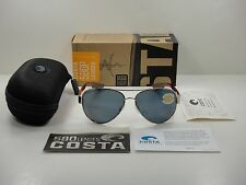 COSTA DEL MAR POLARIZED SUNGLASSES SOUTH POINT SO84 OGP ROSE GOLD/GRAY 580P LENS