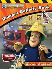 Fireman Sam Bumper Activity Book, VARIOUS, New Book