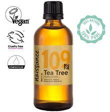 Aceite de Árbol de Té - Aceite Esencial 100% Puro - 100ml vegano y no OGM