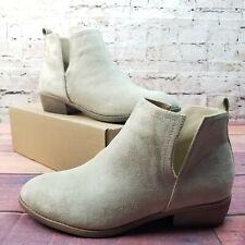 Journee Collection RIMI Women's Ankle Boots Size 10 Stone Beige NIB Shoes Bootie