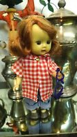 NASB Nancy Ann Storybook MUFFIE Doll OUTFIT ONLY Red Top Blue Jean Glasses (1740