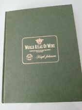 The World Atlas Of Wine by Hugh Johnson 1971 and THE VINEYARDS OF FRANCE – JULIA