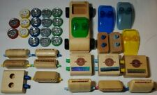 Calello Automoblox Cars 40 Piece Building Lot Wood, good condition, assorted
