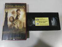 EL SEÑOR DE LOS ANILLOS LAS DOS TORRES - VHS CINTA TAPE CASTELLANO &