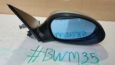 GENUINE BMW 1 SERIES E87 DRIVER SIDE O.S ELECTRIC WING MIRROR 010803