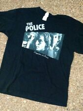 The Police T-Shirt / Police Band Tee,The Police Regatta Large Men's Rock Tee
