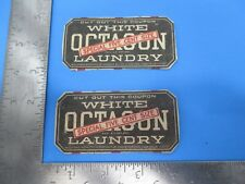 Vintage Octagon Laundry Soap Colgate & Company Five Cent Size Coupons S4522