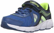Saucony Kotaro 3 A/C Sneaker Little Kid Blue/Black/Citron sz 11 wide   H486