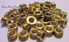 (Lot of 50) Brass Shoulder Reducers 1/8M x 1/4-27F