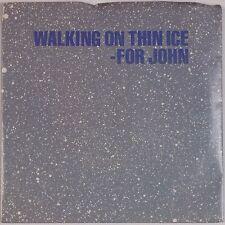 YOKO ONO: Walking on Thin Ice JOHN LENNON Geffen USA 45 w/ PS NM