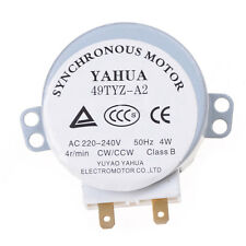 CW/CCW 5/6RPM AC 220-240V IMC Microwave Oven Turntable Synchronous Motor 1x
