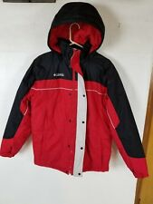 Columbia Red Black White Winter Coat Jacket Youth/Women's Size 18/20