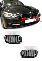 FOR BMW 3 SERIES F30 F31 F35 2011-2017 FRONT KIDNEY GRILL SPORT LINE PAIR SET