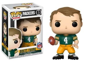 NFL Green Bay Packers POP! Sports Brett Favre Vinyl Figure #83 [Green Jersey]