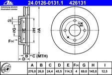 Bremsscheibe (2 Stück) - ATE 24.0126-0131.1