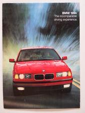 BMW Range 1994 USA Market brochure prospekt - 3 5 7 8 Series