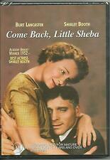COME BACK LITTLE SHEBA - BURT LANCASTER - SHIRLEY BOOTH - DVD - NEW -