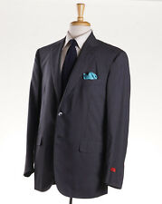 NWT ISAIA NAPOLI Gray 'Aqualight' Super 150s Wool-Silk Jacket 44 R Sport Coat