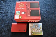 Nintendo DSi XL Super Mario Bros 25th Anniversary Met Sealed Super Mario Bros