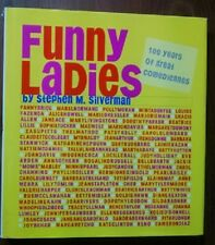 THE GREAT COMEDIENNES - 100 YEARS OF FUNNY LADIES - GREAT BIOS AND PHOTOS