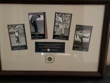 Masters Tournament pin 2000 Plus Arnold Palmer 18 x 13 professionally framed