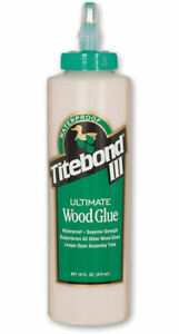 Titebond III 3 Ultimate Wood Glue 16oz 473ml Bottle RDGTools wood making turning