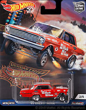 Hot Wheels Chevy Nova 63 Dragstrip Demons FPY86-956F 1/64
