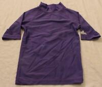 UV Skinz Girl's Short Sleeve SPF 50+ Sun & Swim Shirt TM8 Purple Size 6 NWT
