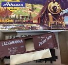 HO Athearn Bev-Bel Corp 233 DELAWARE LACKAWANNA WESTERN DL&W 40' SD Box Car kit