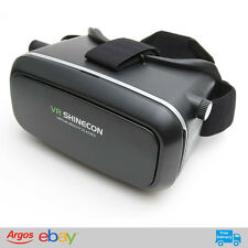 Virtual Reality 3D Headset 360 FOV High Quality Mobile VR System 4 to 6.2 inch