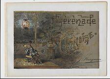 1890ca SERENADE CHINOISE Quino piso score Giulio Recuerdos Edel Solanges 中國